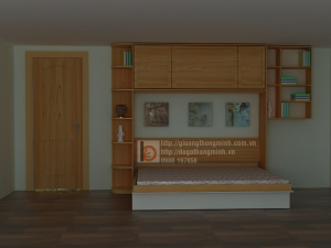 Giường thông minh phong cách tối giản