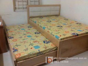 Giường thông minh 2 tầng tiện lợi