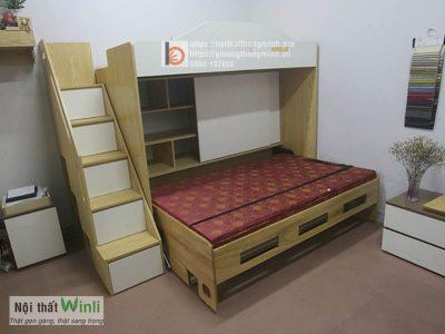 giường tầng thông minh Wallbed