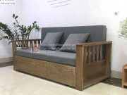 sofa giường tay nan