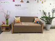 sofa giường tay tam giác nan sắt