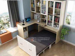 giường xếp kết hợp bàn học2